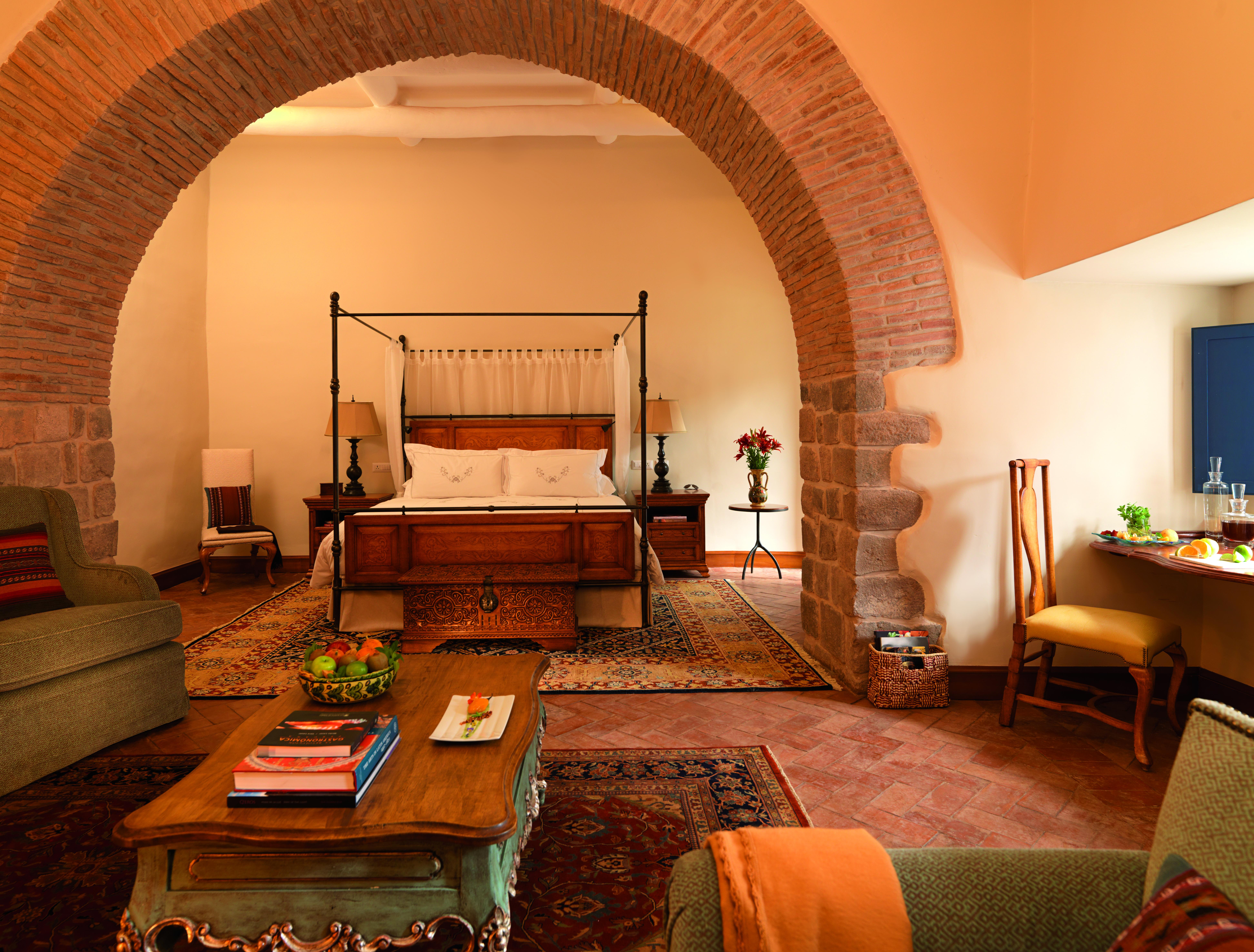 Cusco Palacio Nazarenas Chambre Perou Adrian Houston