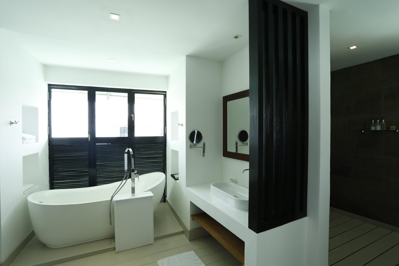 Kihaa Water Villa Salle de Bain Maldives