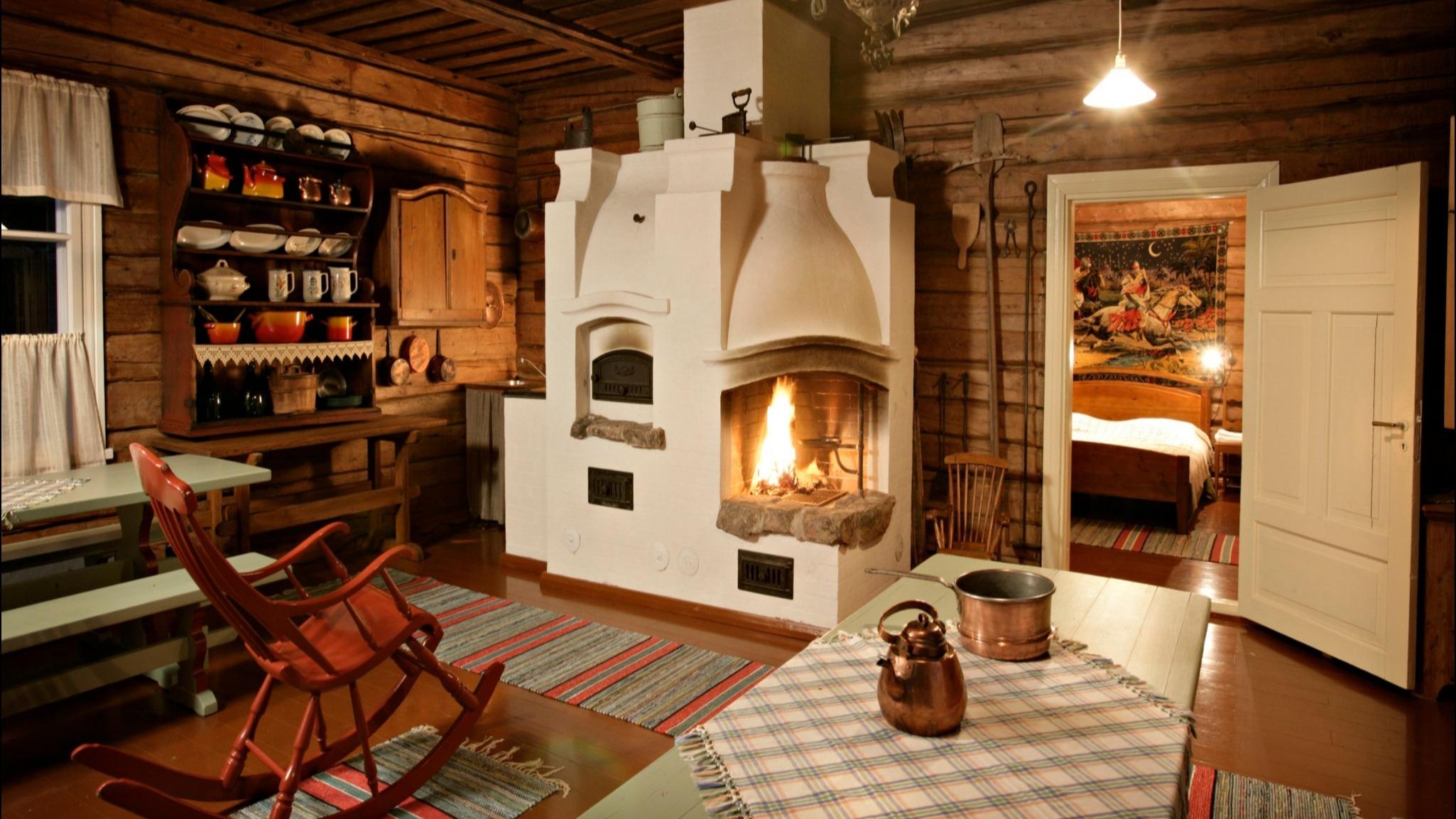 Kakslauttanen Maison Traditionnelle Living Laponie