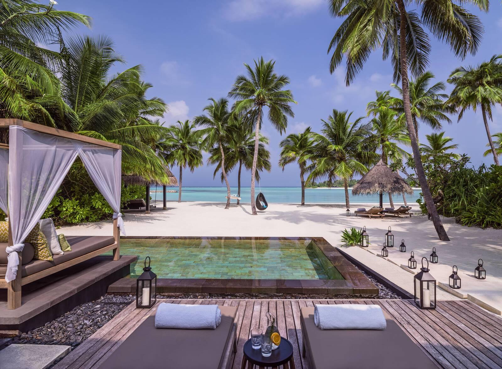 One and Only Reethi Rah Grand Beach Villa Maldives