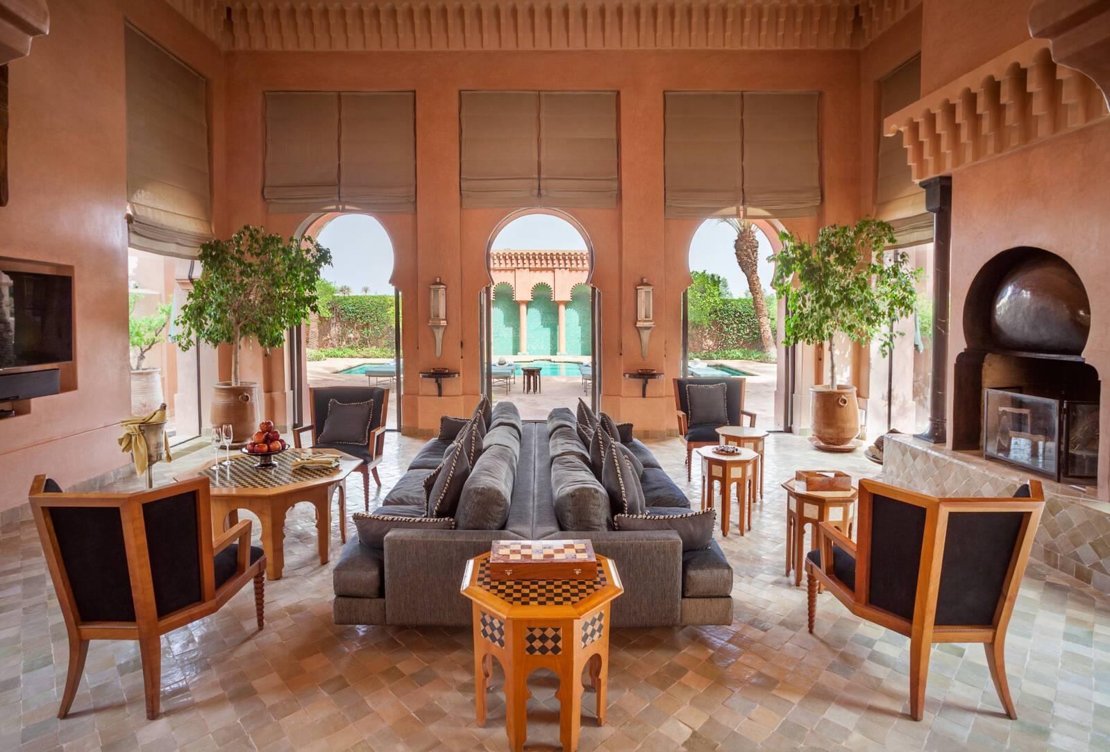 Amanjena Al Hamra Salon Marrakech