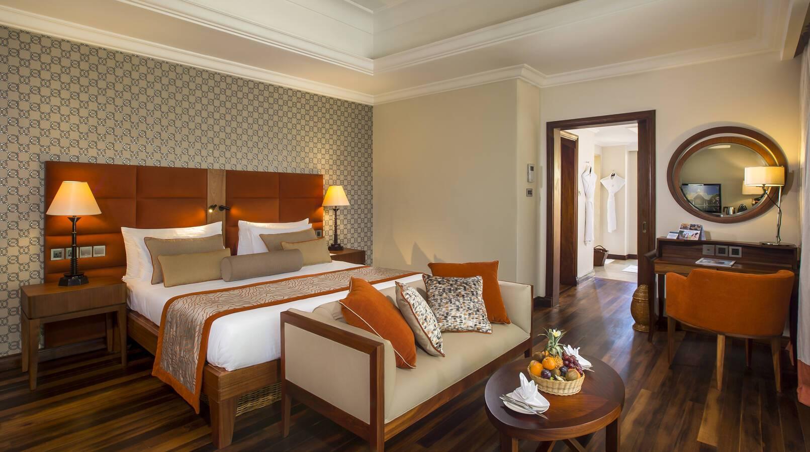 Maradiva villas luxury suite chambre