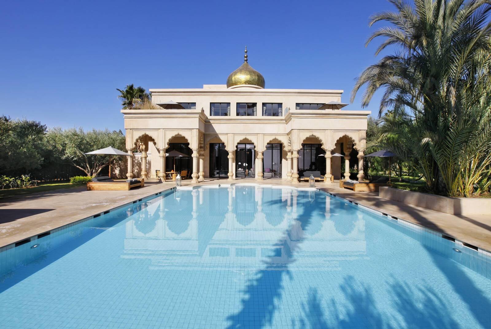 Palais Namaskar Marrakech piscine