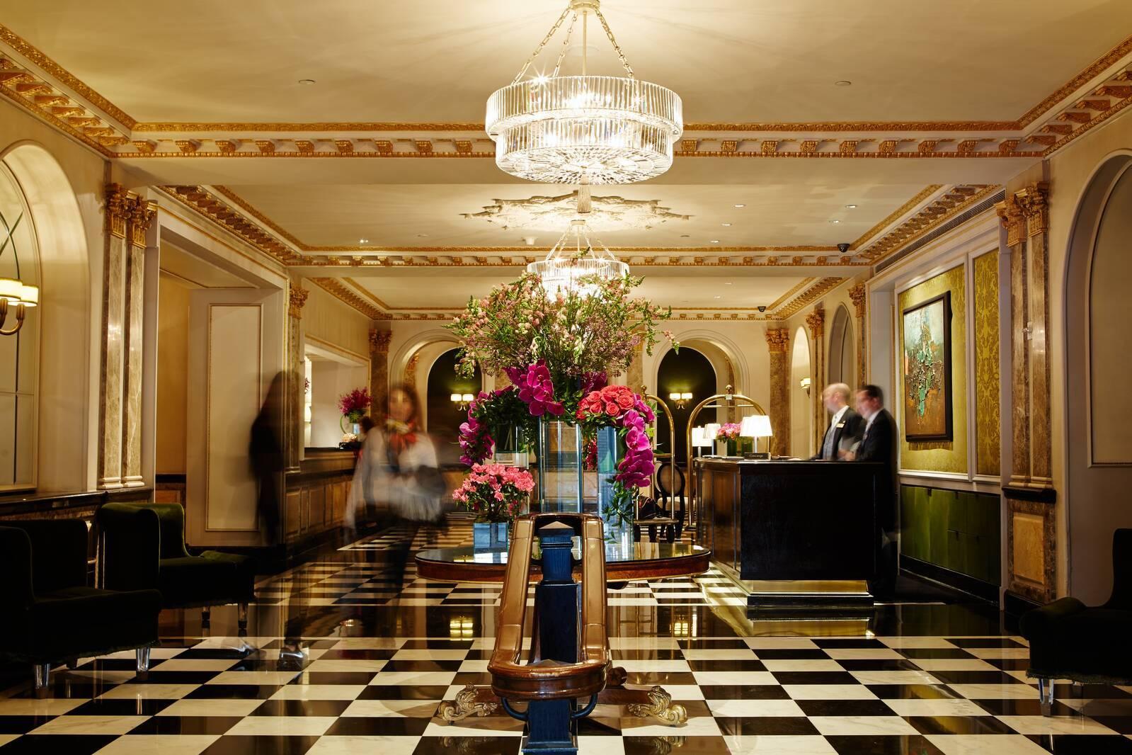 The Pierre New York lobby