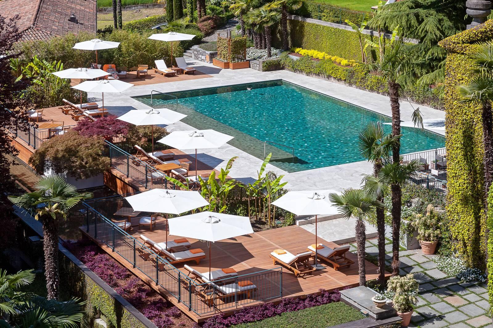Grand Hotel Tremezzo Lac Come Piscine Gianni Dal Magro