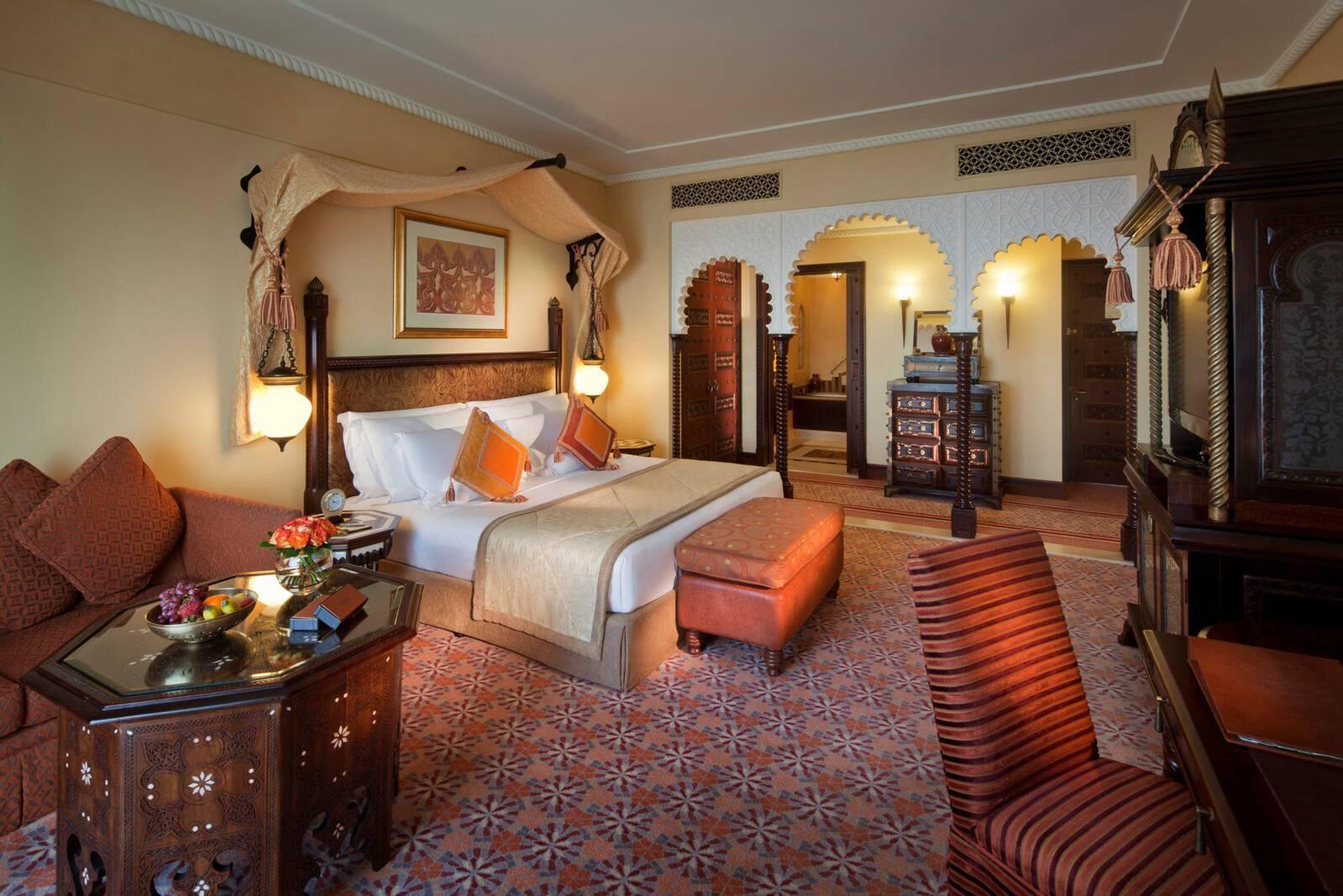 Jumeirah al Qasr Dubai ocean deluxe room chambre