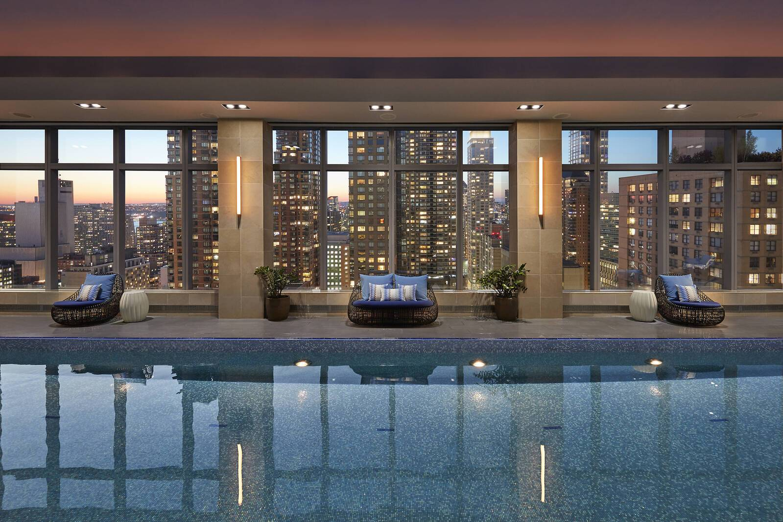 Mandarin Oriental New York piscine
