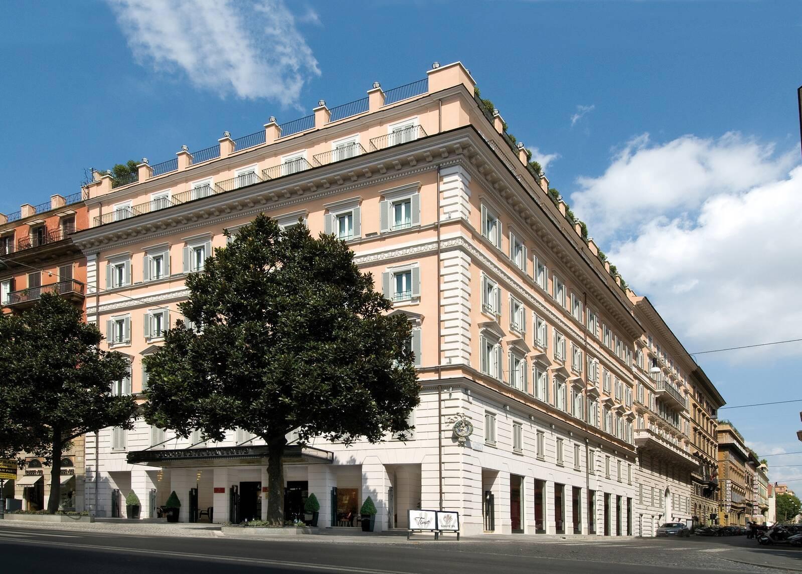 Grand Hotel Via Veneto Rome Italie Exterieur