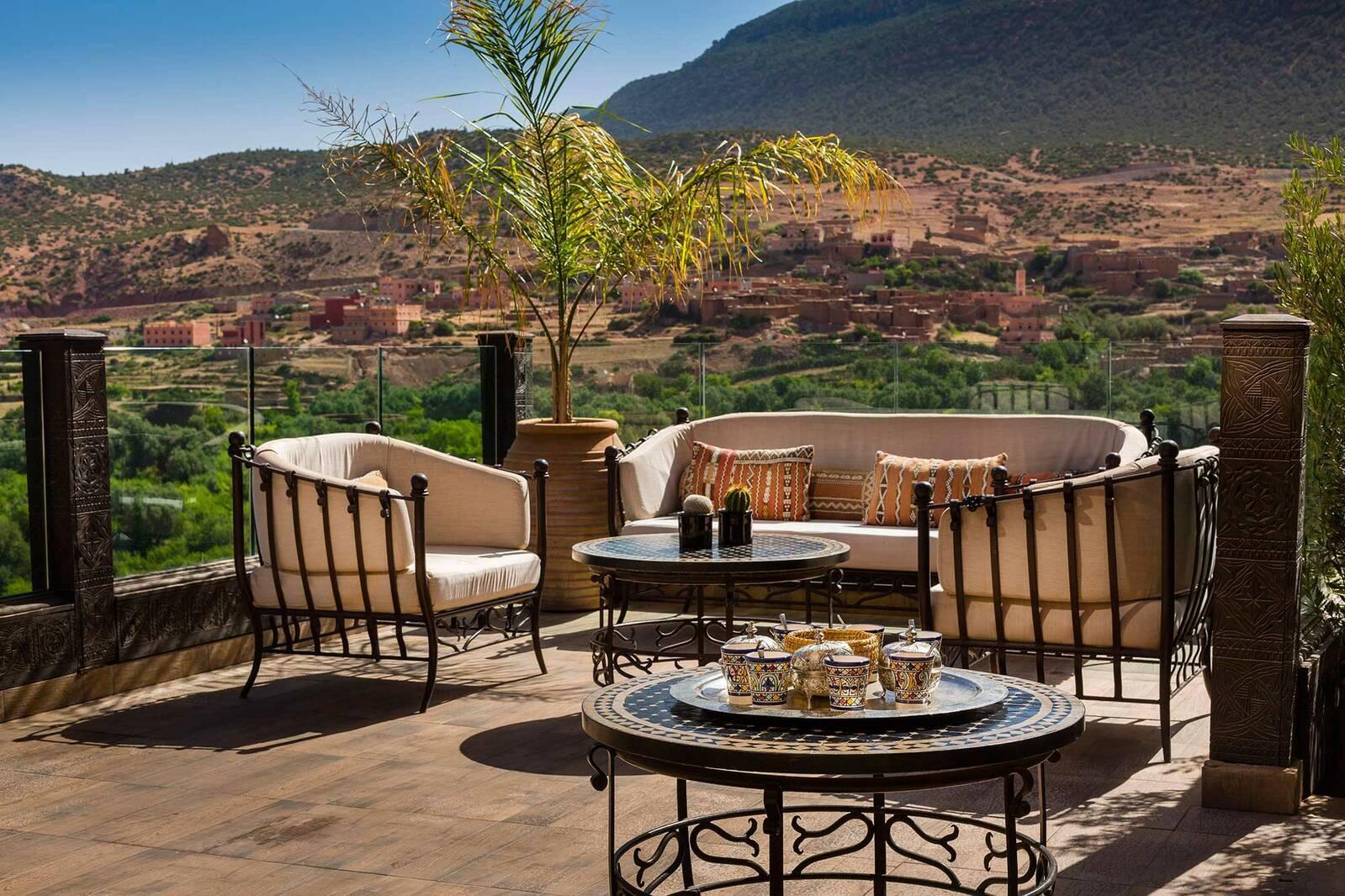 Kasbah Tamadot Maroc Virgin Asmoun Lounge