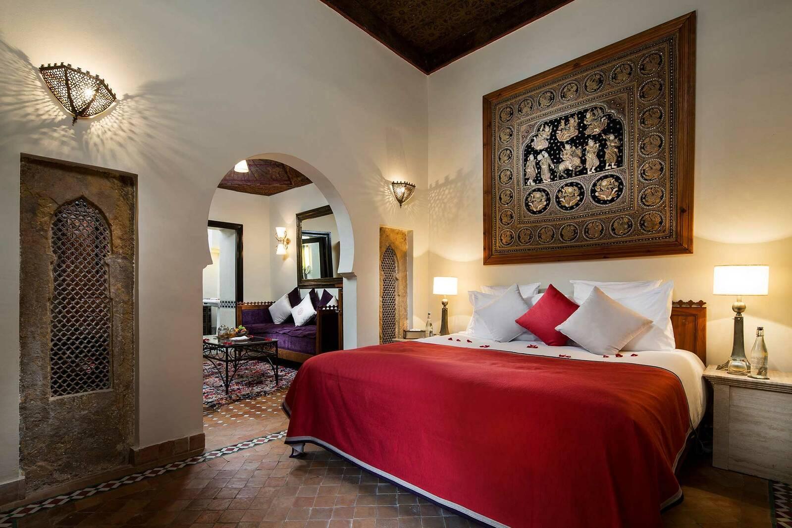 Kasbah Tamadot Maroc Virgin Chambre Deluxe