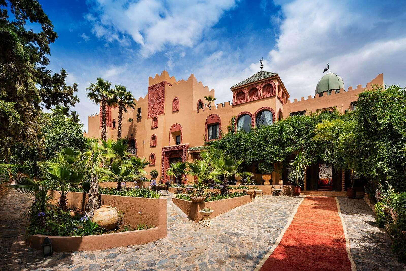 Kasbah Tamadot Maroc Virgin Exterieur