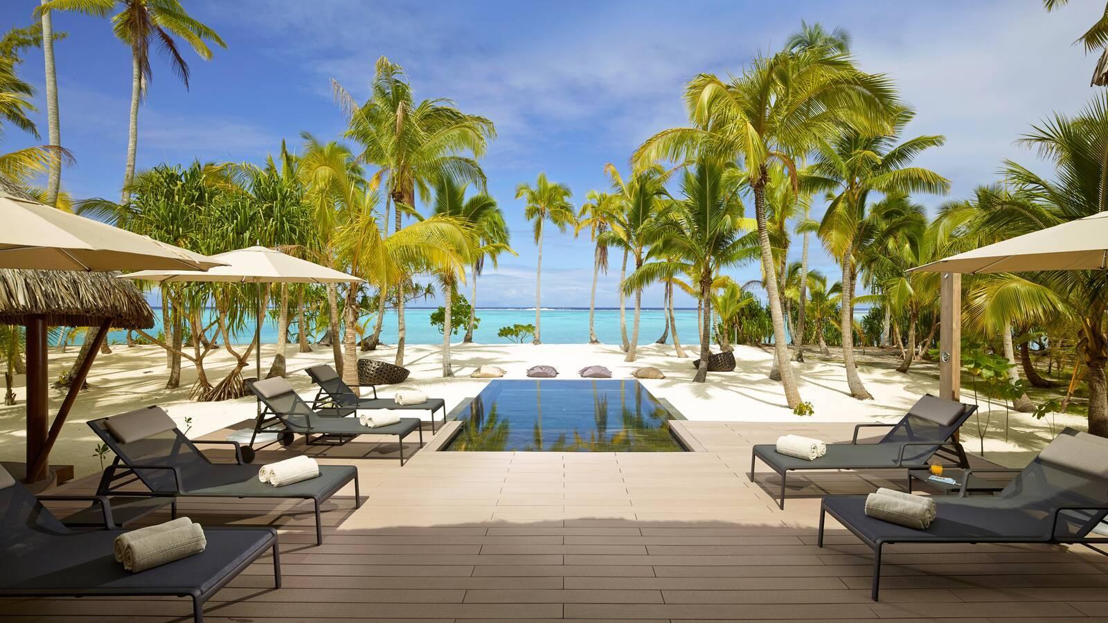 The Brando Villa 3 Chambres Piscine Polynesie Tetiaroa