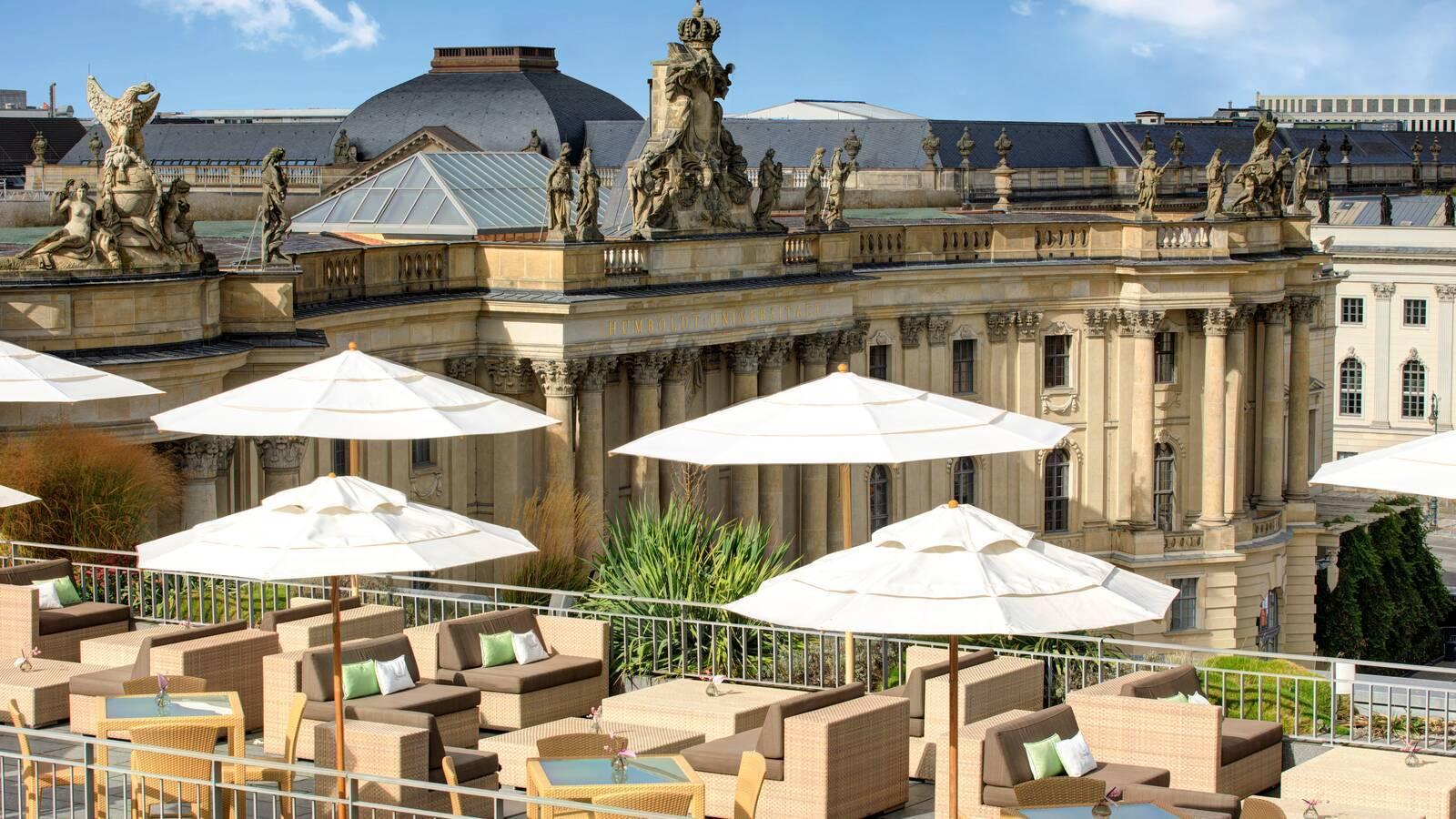 Hotel de Rome Berlin Rocco Forte Terrasse