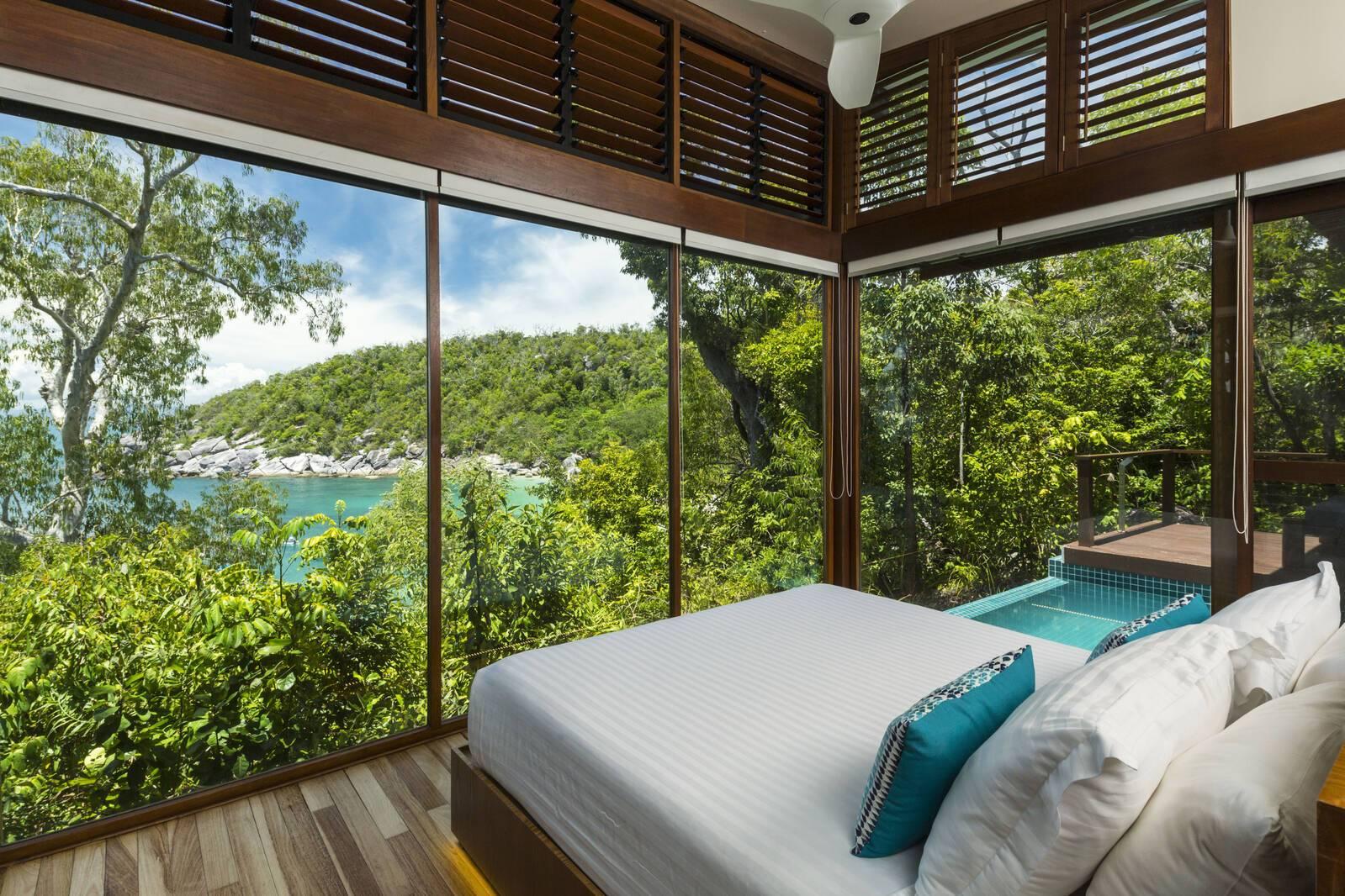 Bedarra Island Chambre Vue Ocean Australie
