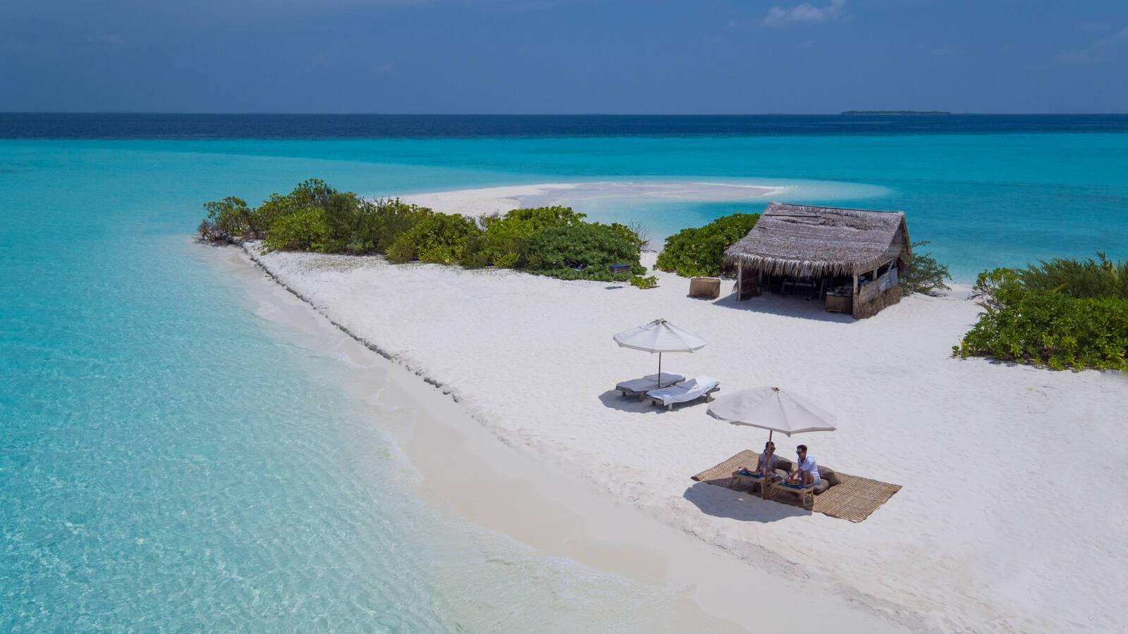 Soneva Fushi Pique Nique Plage Maldives