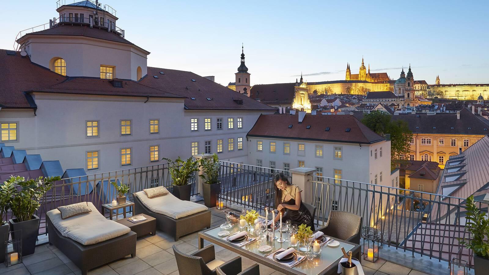 Mandarin Occidental Terrasse Suite Presidentielle Prague