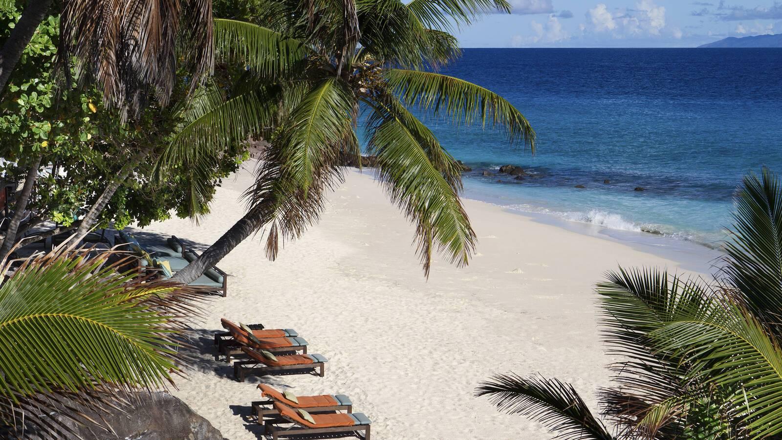 Fregate Island Anse Victorin Seychelles