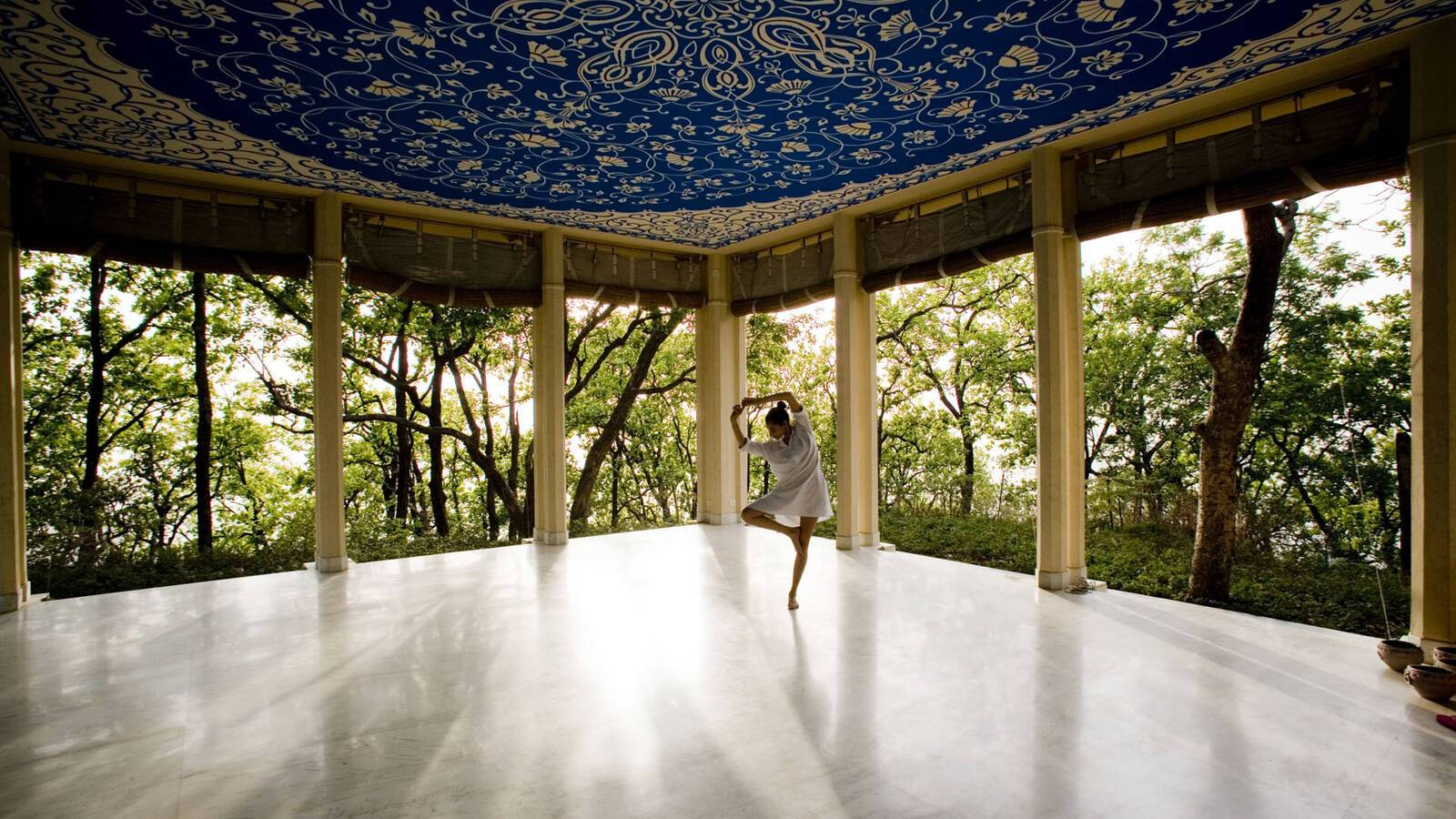 Ananda Spa Yoga Hawa Mahal
