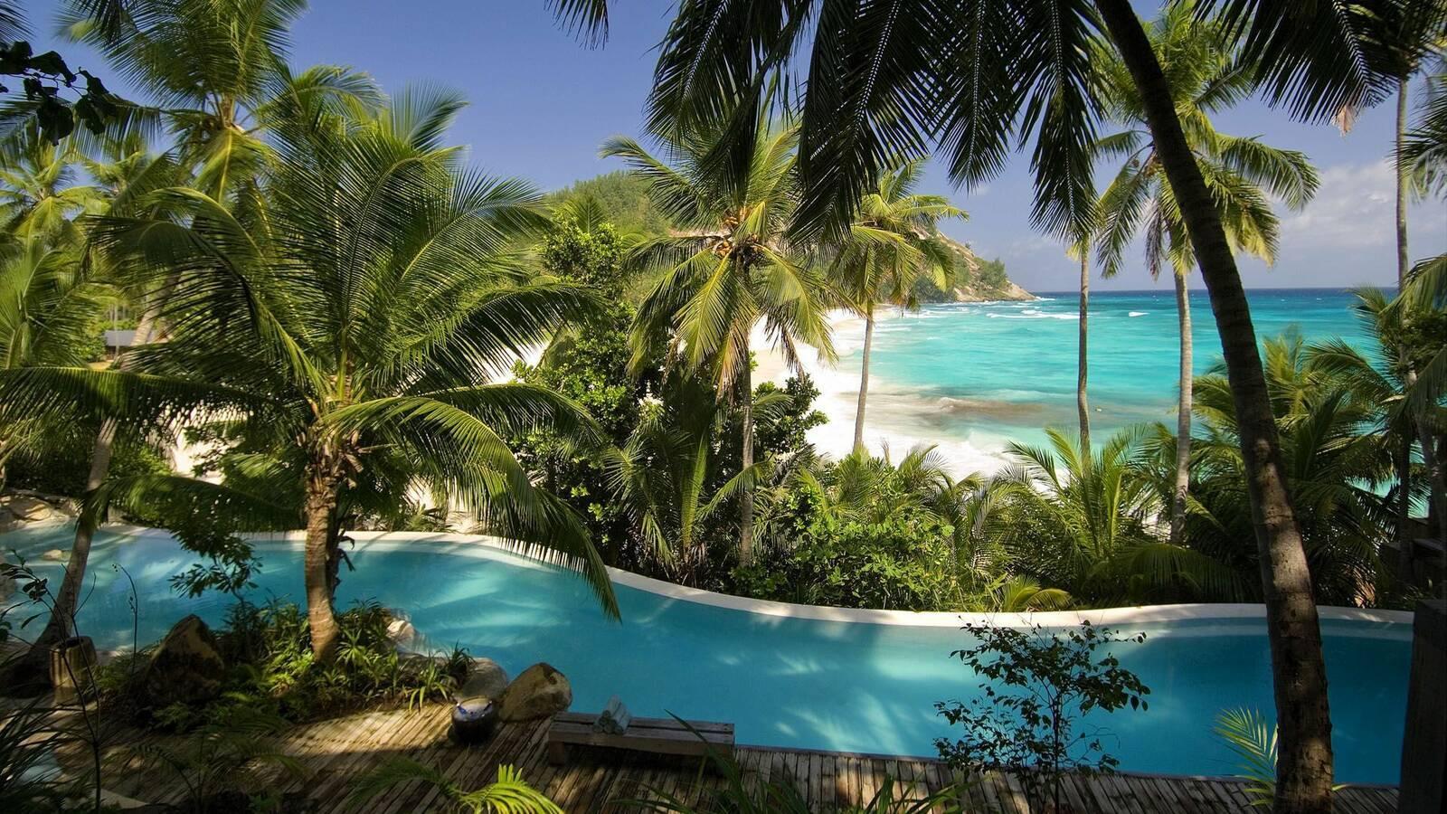 North Island Piscine Seychelles