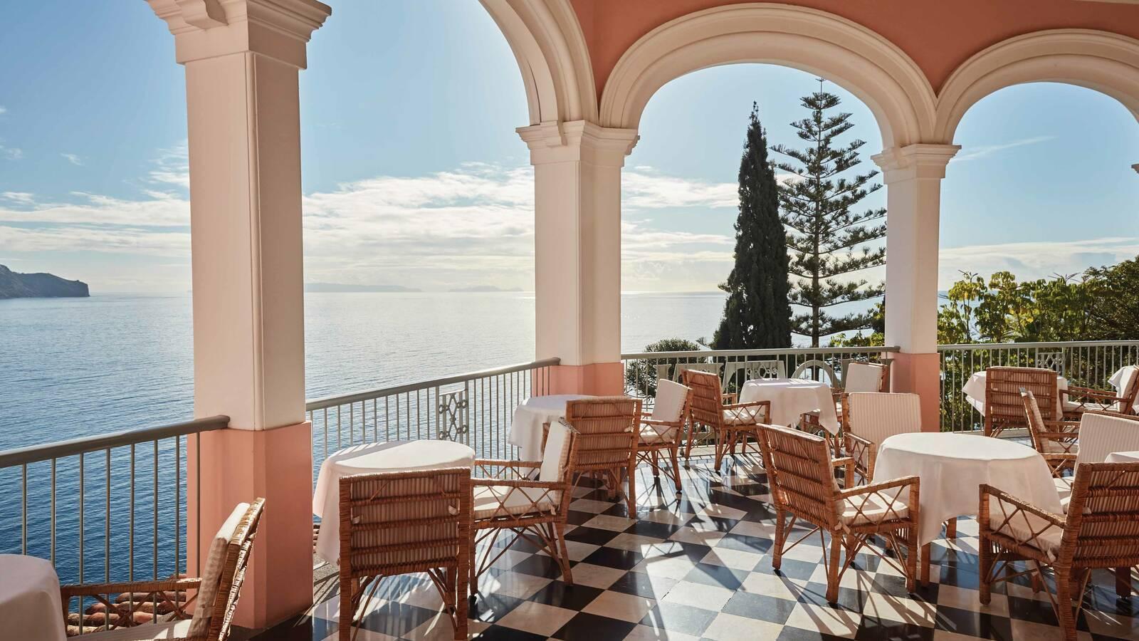 Belmond Reids Palace Madere Terrasse