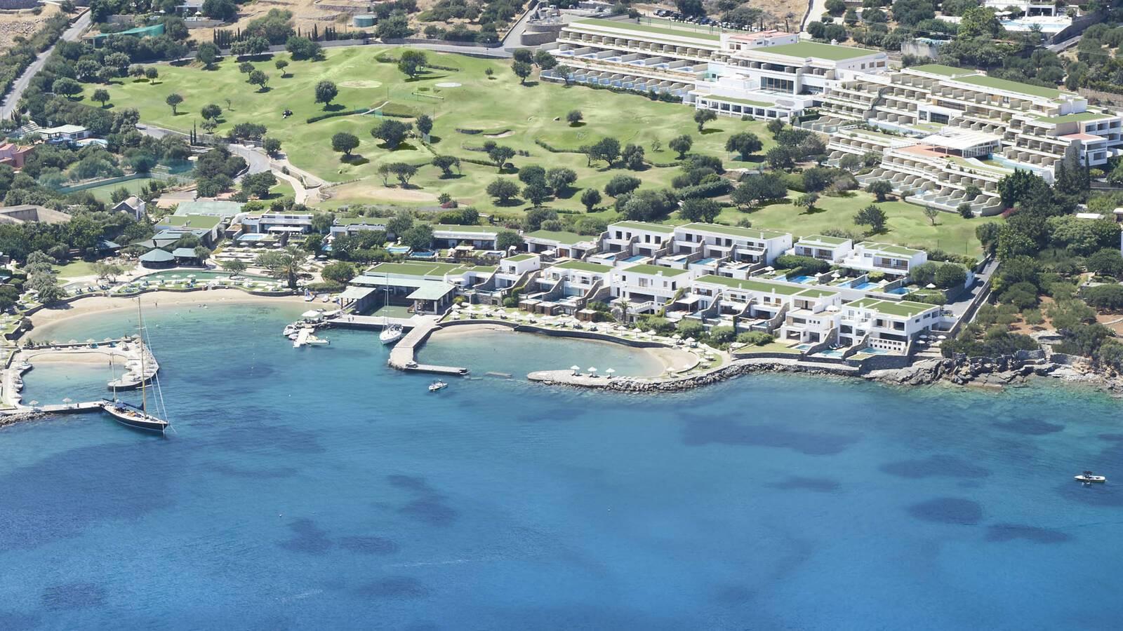 Porto Elounda Crete Vue