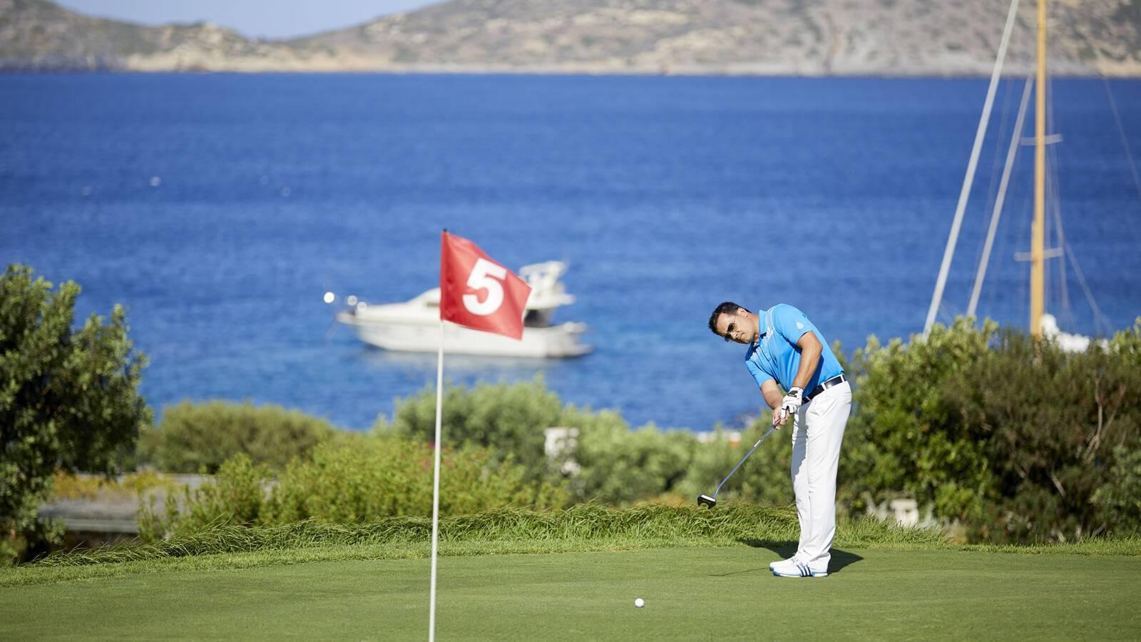 Porto Elounda Crete golf