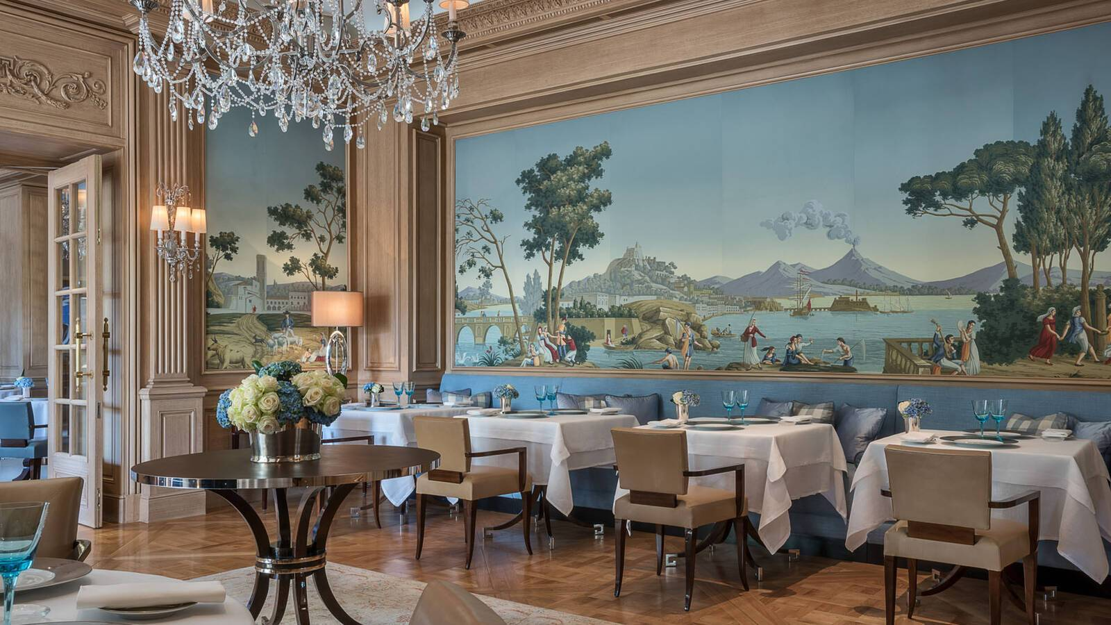 Four Seasons Geneve Bergues Restaurant