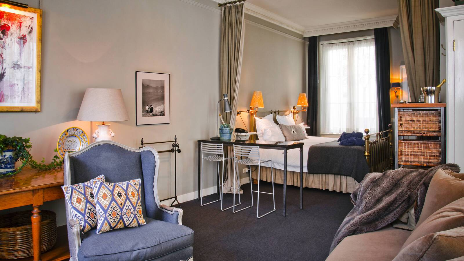 717 hotel junior suite shakespeare amsterdam