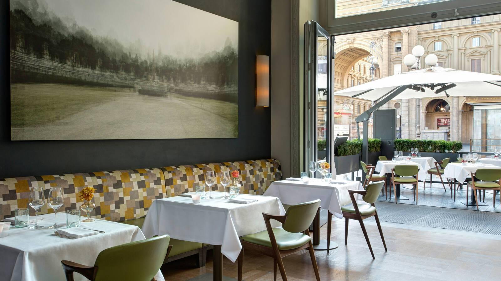 Savoy Florence Rocco Forte Restaurant Irene