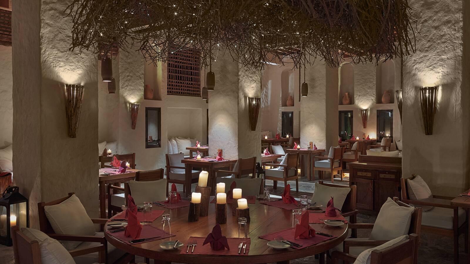 Six Senses Zighy Bay Restaurant Oman