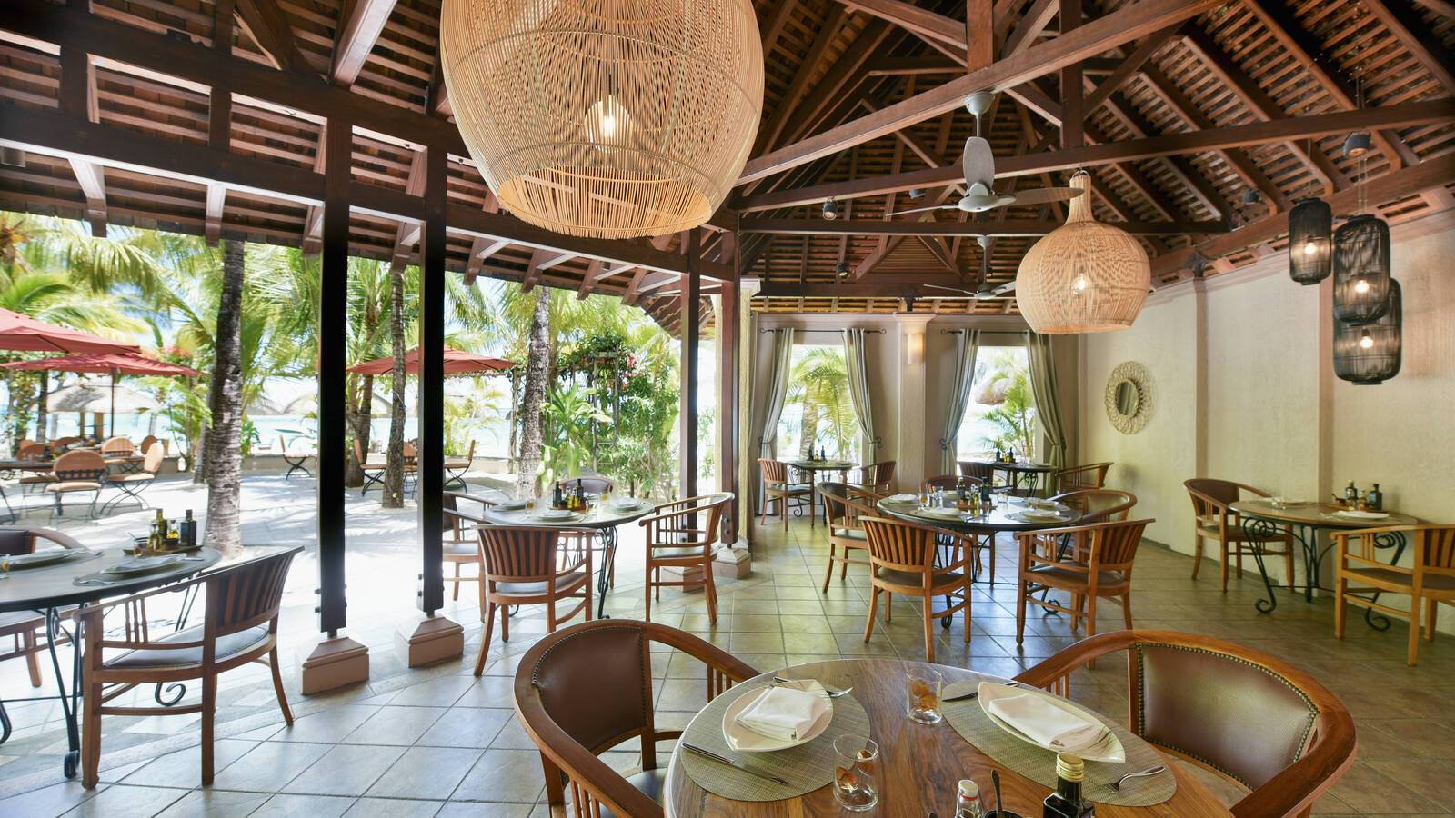 Paradis Beachcomber Restaurant La Palma Maurice