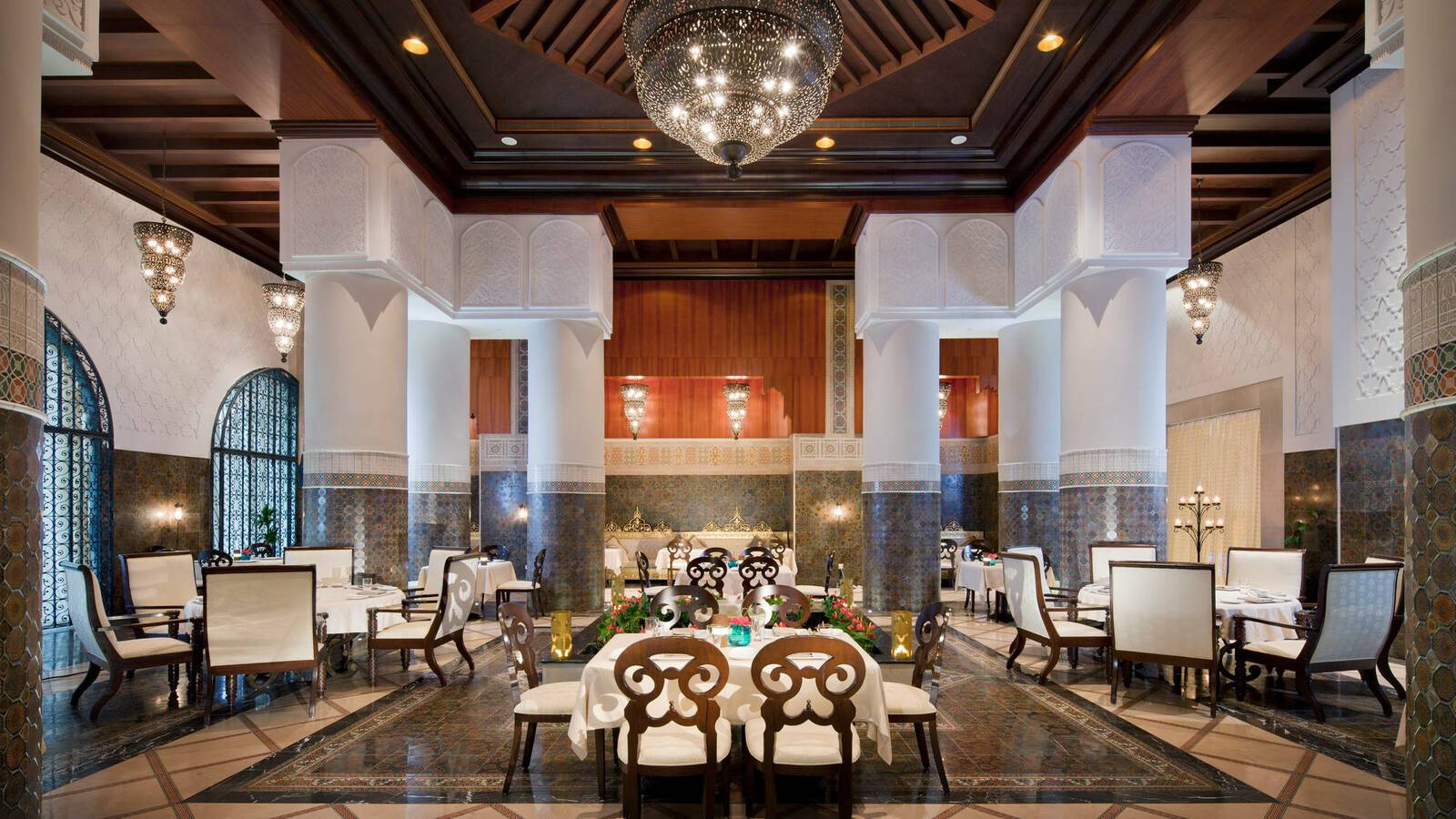 Jumeirah Zabeel Saray Restaurant Amala Dubai