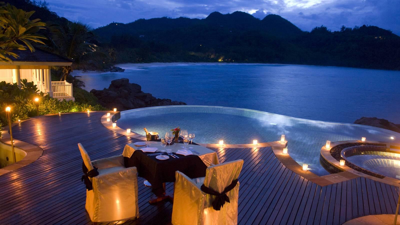 Banyan Tree Restaurant Sea And Stars Seychelles