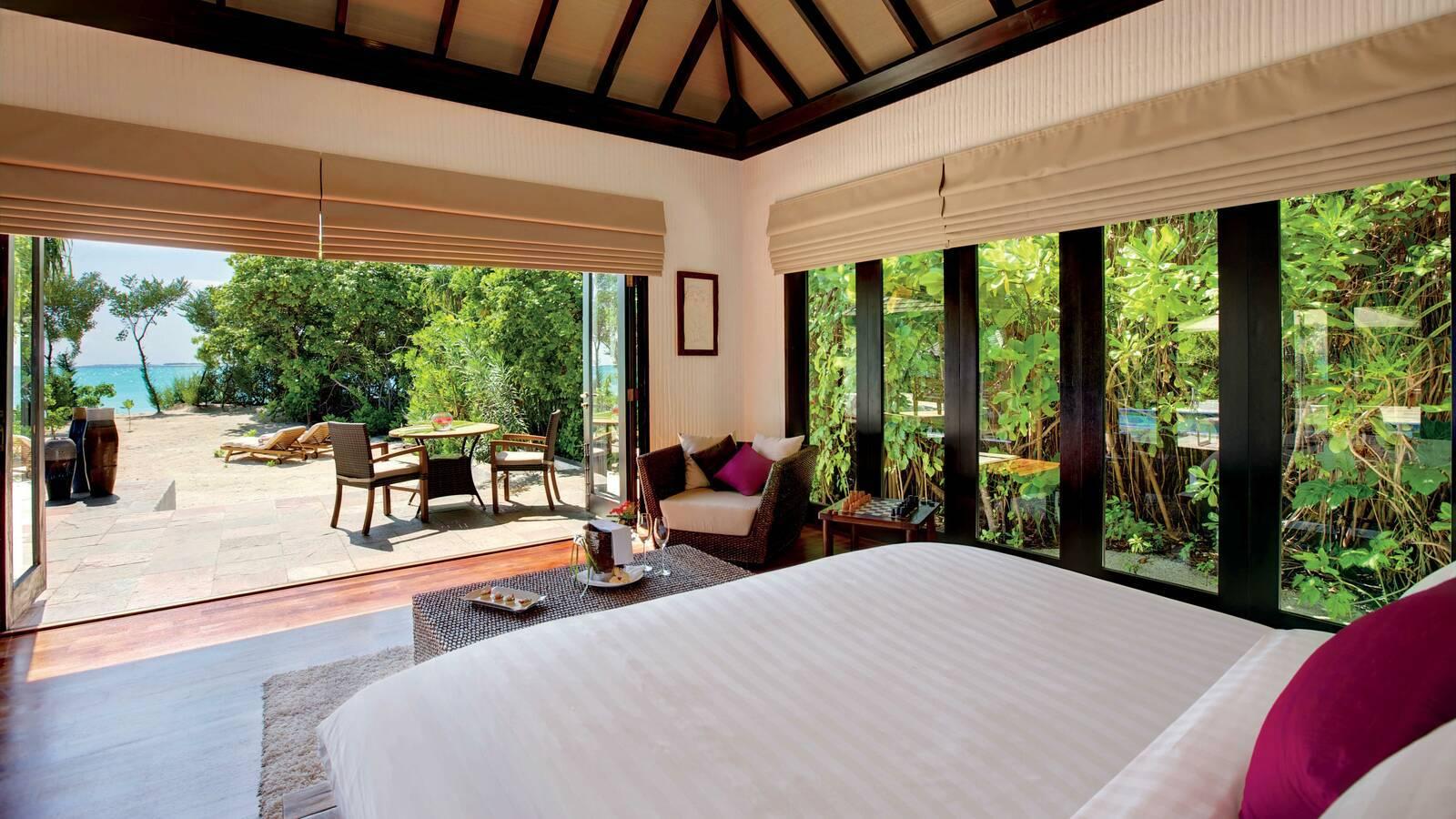 Hideaway Beach Villa Chambre Maldives