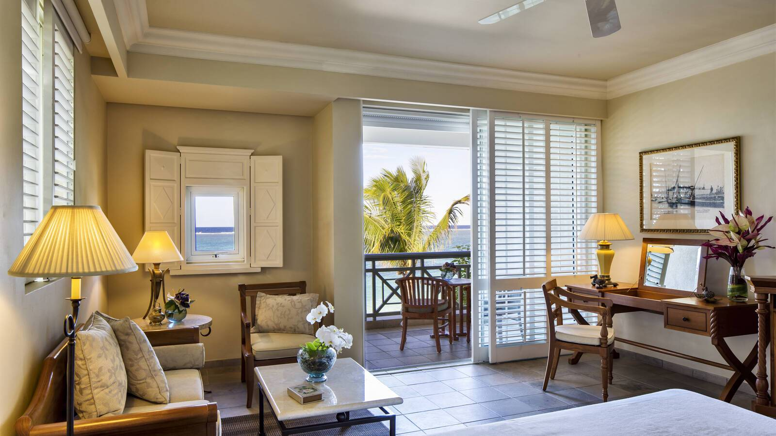 TheResidence Mauritius Chambre Colonial Ocean Front Maurice