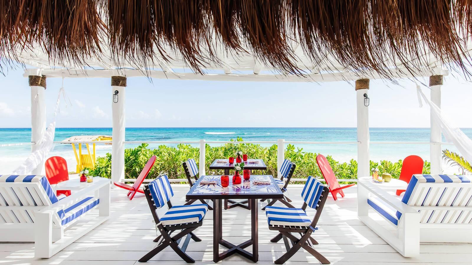 Esencia Mexique Beach Palapa Restaurant