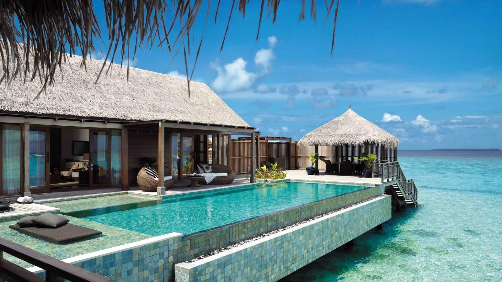 Shangri La Villingili Villa Muthee Piscine Maldives