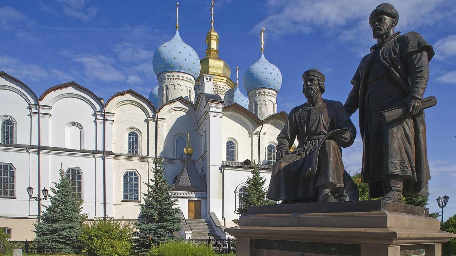 Transsiberien Golden Eagle Train KazanCathedral