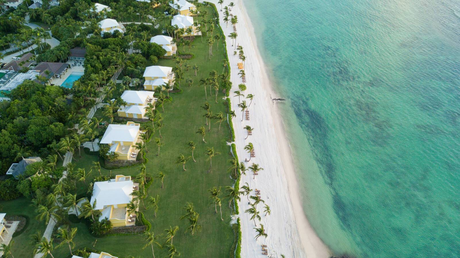 Tortuga Bay Villa Beach Overview Punta Cana