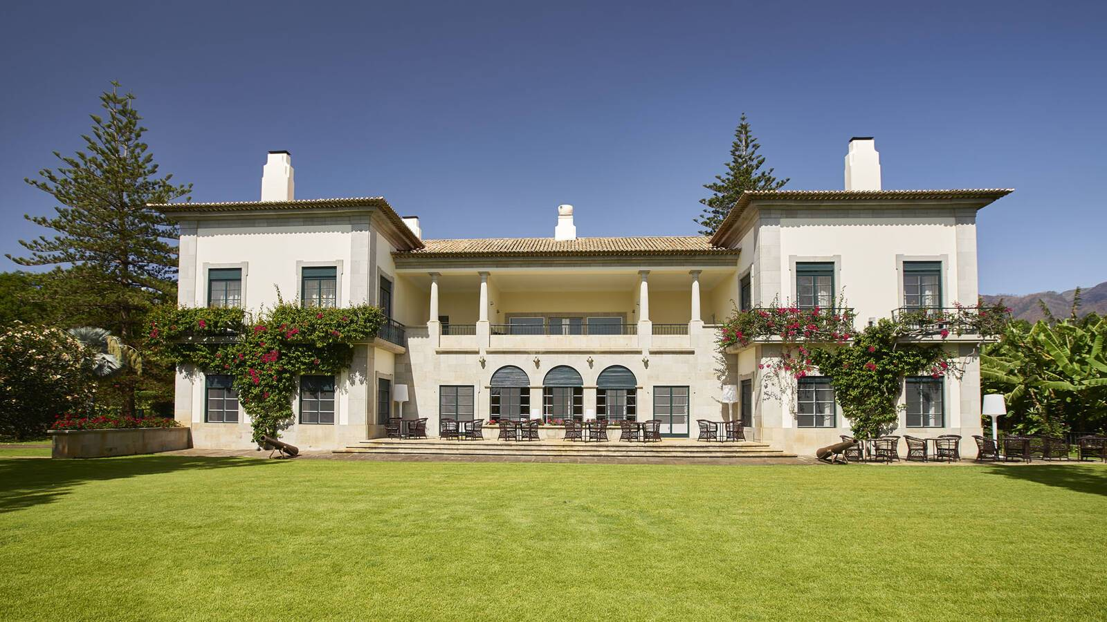 Estalagem Quinta Da Casa Branca Exterieur Manoir Madere