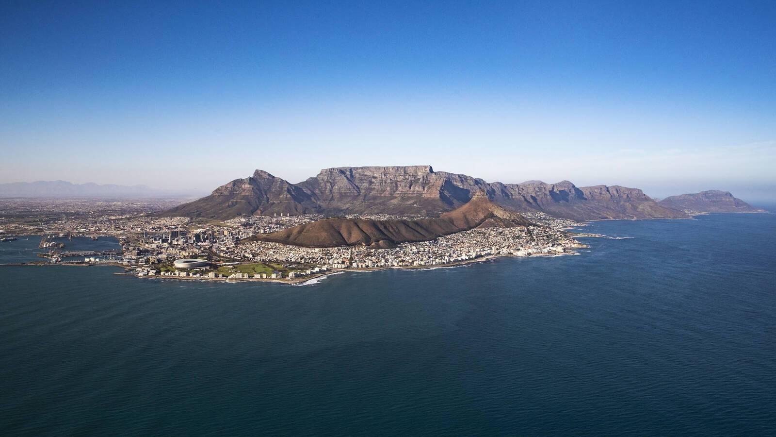 One Only Le Cap Afrique Sud Vue