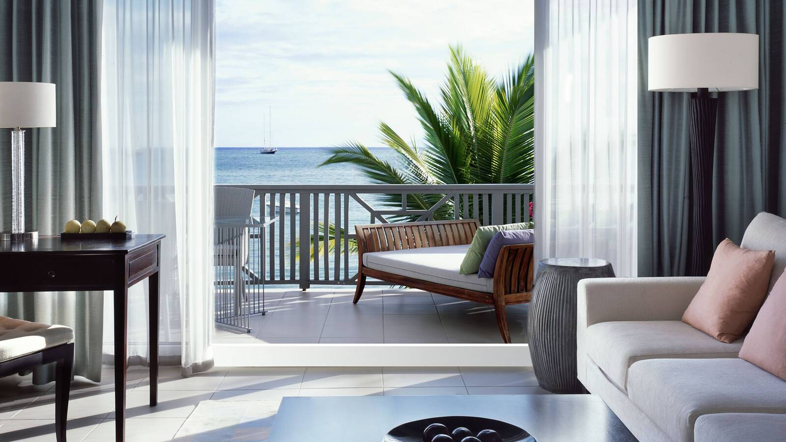 Carlisle Bay Antigua Carlisle Suite Balcony View