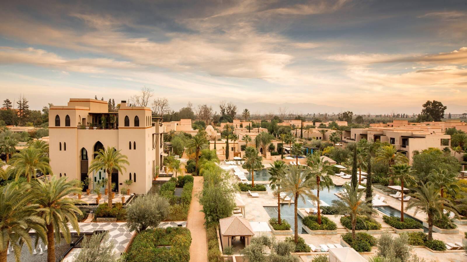 Four Seasons Marrakech Resort View