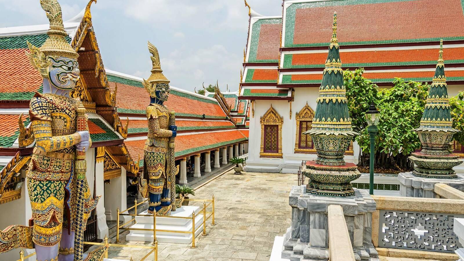 Bangkok Wat Pho laranik