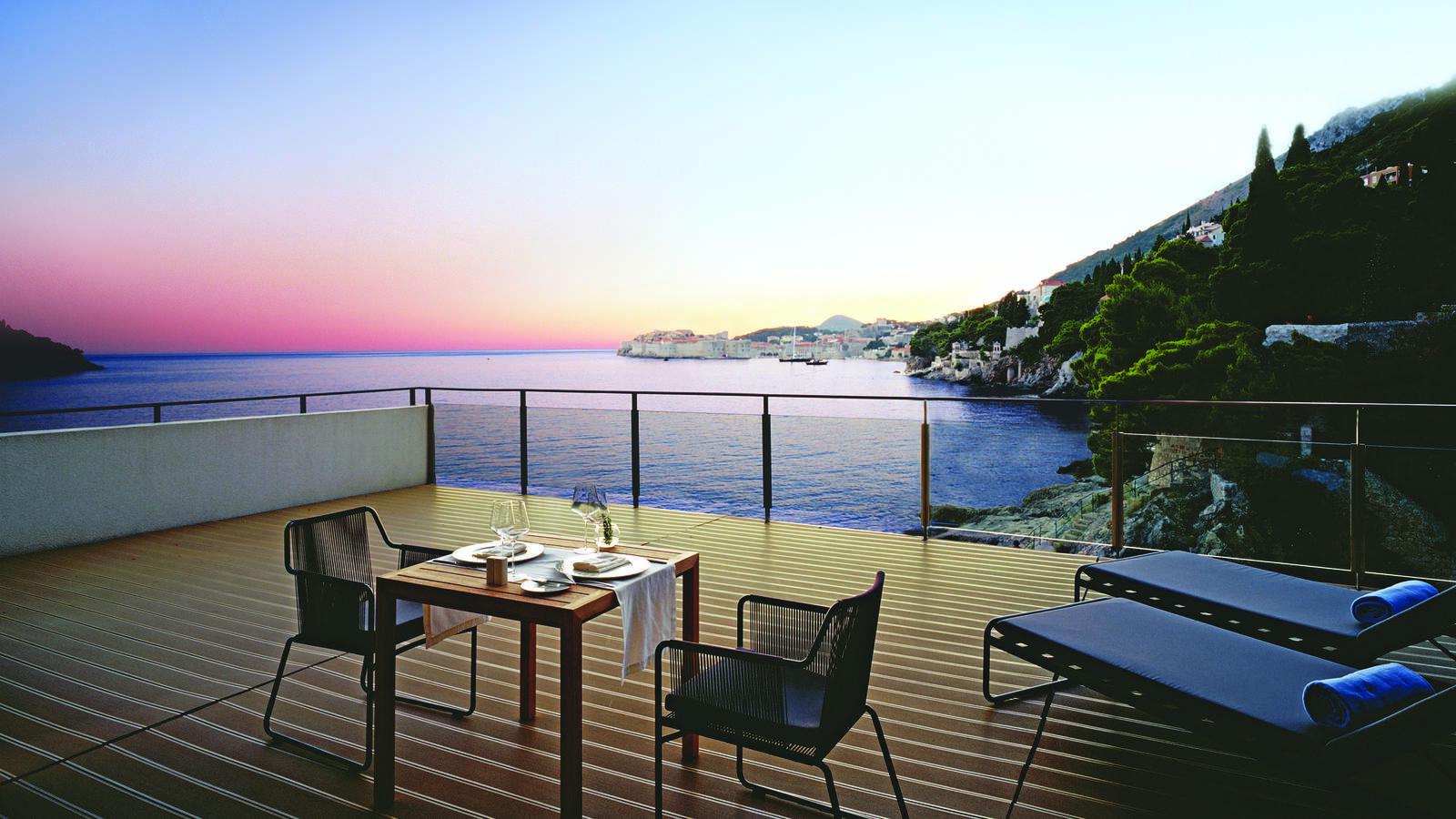 Villa Dubrovnik Royal Suite Terrasse Croatie