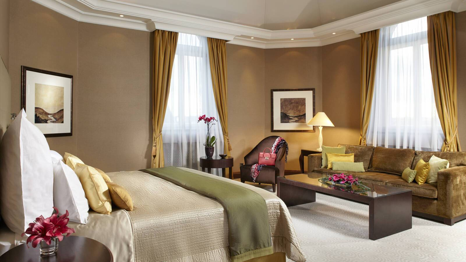 Corinthia hotel suite presidential chambre Budapest