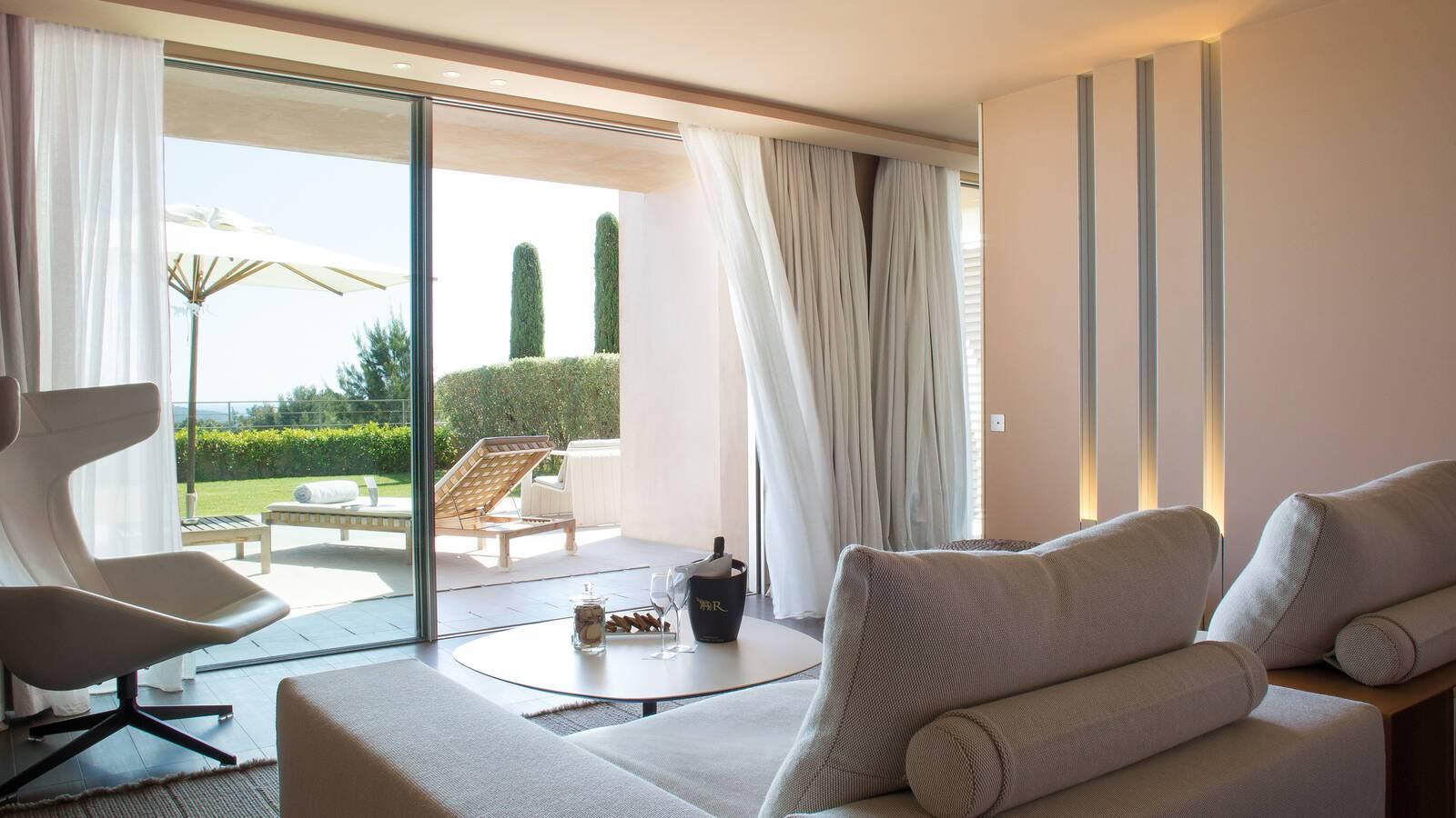 La Reserve Ramatuelle Junior Suite Living Cote D Azur