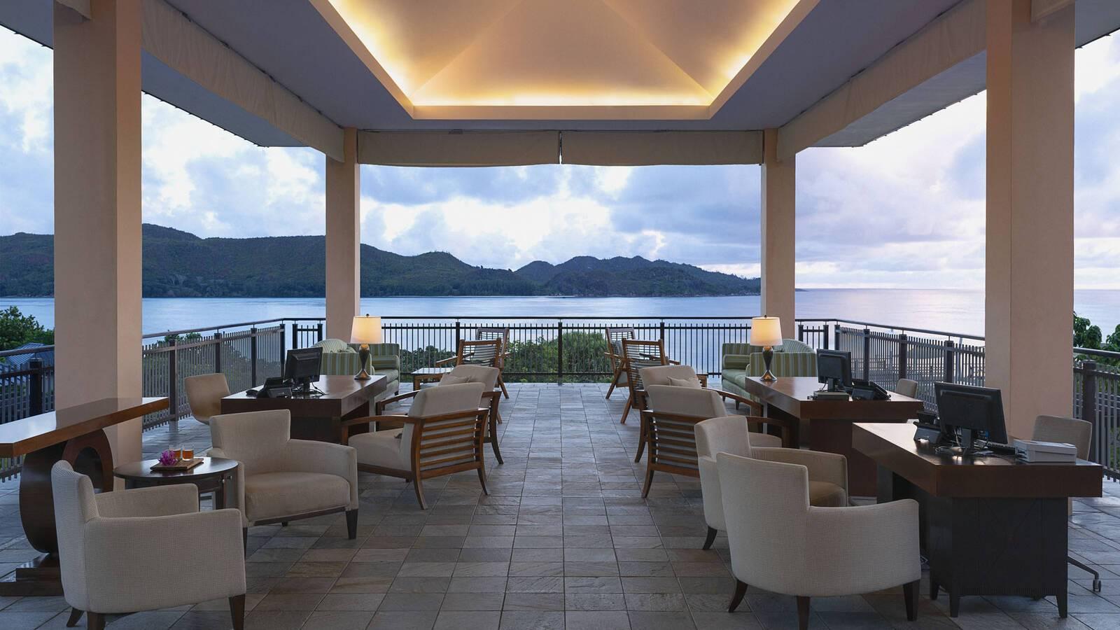Raffles Praslin Seychelles Lobby