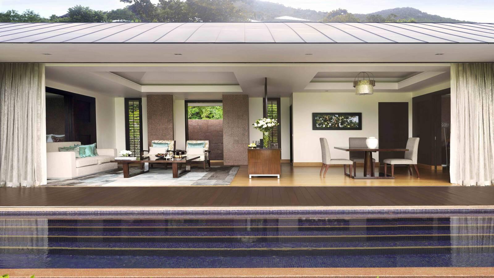 Raffles Seychelles Royal Beach Villa