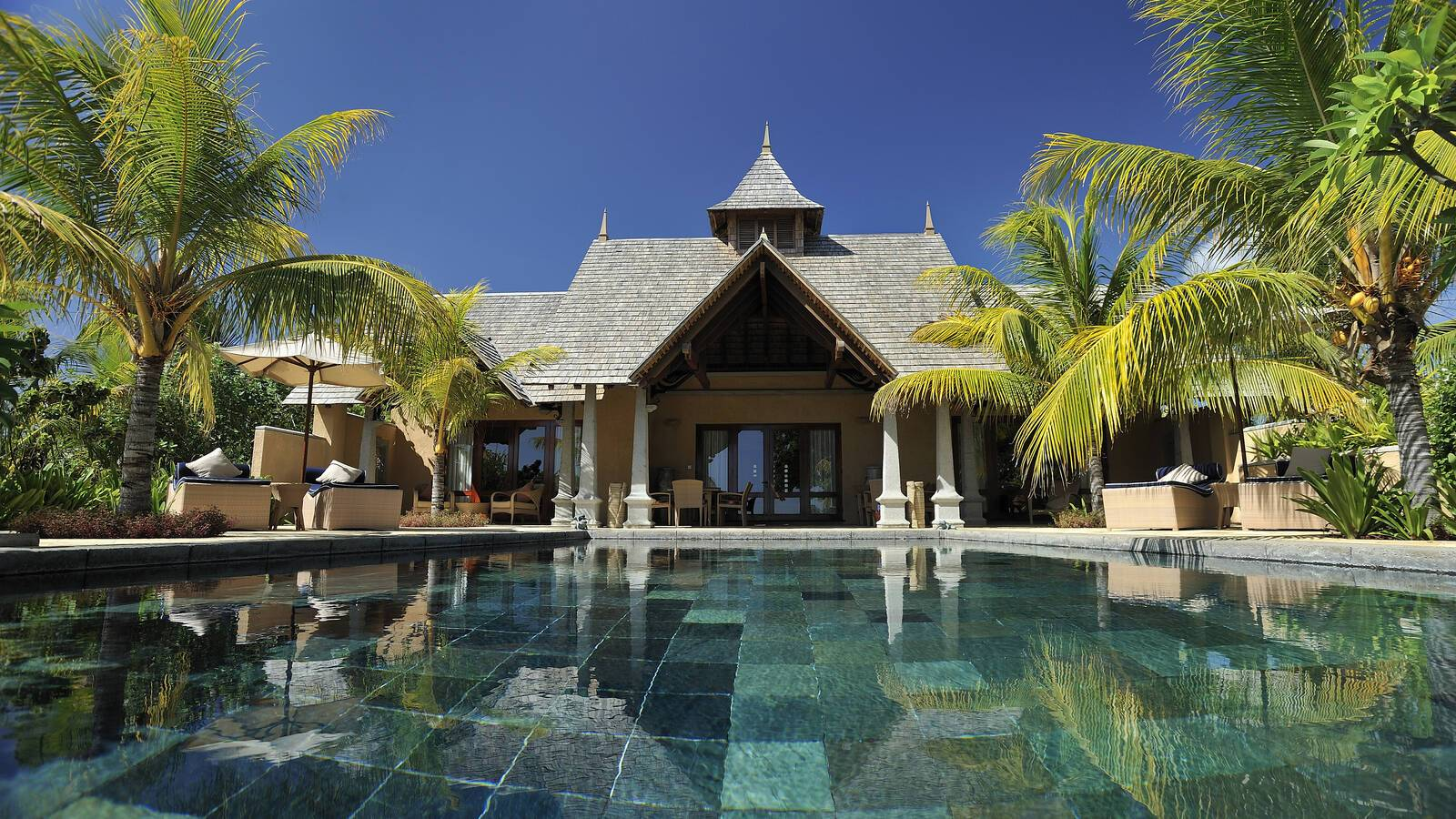 Maradiva Villas Maurice presidential suite exterieur